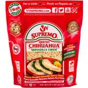 Supremo Queso Chihuahua Shredded Quesadilla Cheese, 2 Pound -- 6 per case.