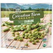 Cascadian Farm Organic Premium Edamame Shelled Soybean, 10 Ounce Bag -- 12 per case