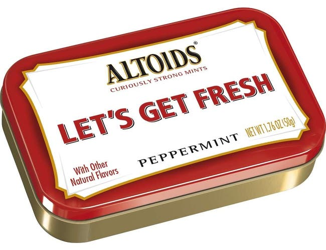 Altoids Peppermint Mints - Valentines Day Love Tin Display, 1.76 Ounce -- 24 per case