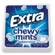 Extra Peppermint Chewy Mints, 1.5 Ounce -- 96 per case.