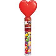 Skittles Heart Topper Bite Size Candy, 1.5 Ounce -- 12 per case