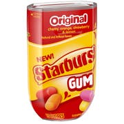 Starburst Original Gum - Hero Bottle, 15 count per pack -- 80 per case