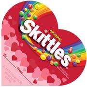 Skittles Original Heart Shape Bite Size Candy, 8 Ounce -- 12 per case