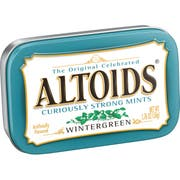 Altoids Wintergreen Twin Pack - 6 packs per box,  12 per case