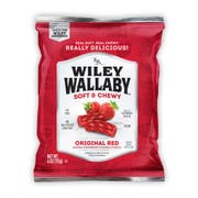 Wiley Wallaby Red Licorice, 4 Ounce -- 16 per case.