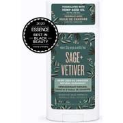 Schmidts Hemp Seed Oil Sage Plus Vetiver Sensitive Skin Formula Deodorant Stick, 3.25 Ounce -- 12 per case