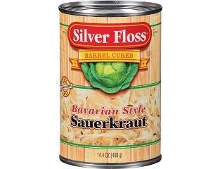 Silver Floss Bavarian Style Sauerkraut, 14.5 Ounce -- 24 per case.