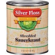 Silver Floss Shredded Sauerkraut -- 28 oz. can, 12 cans per case.