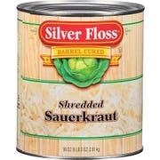 Silver Floss Shredded Sauerkraut - no.10 can, 6 cans per case