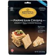 Sonoma Creamery Parmesan Crisps, 2.25 Ounce -- 6 per case