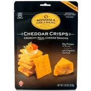 Sonoma Creamery Cheddar Crisps, 2.25 Ounce -- 6 per case