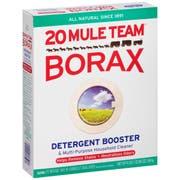 20 Mule Team Borax Detergent Booster, 65 Ounce -- 6 per case.
