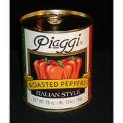 Dunbars Roasted Red Pepper Pieces - 28 oz. can, 12 cans per case