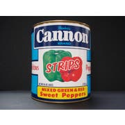 Moody Dunbar Red and Green Pepper Strips - no.10 can, 6 cans per case