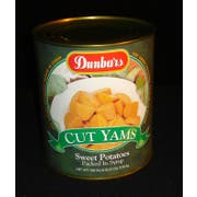 Dunbars Fancy Cut Sweet Potatoes - no. 10 can, 6 cans per case