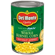 Del Monte Golden Sweet Whole Kernel Corn, 15.25 Ounce -- 24 per case.