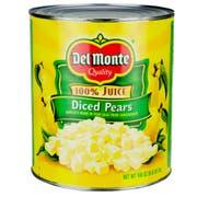 Del Monte Diced Peaches in Juice, 105 Ounce Can -- 6 per case.