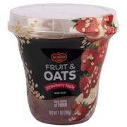 Del Monte Fruit and Oats Strawberry Apple Fruit, 7 Ounce Plastic Cup -- 12 per case