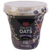 Del Monte Fruit and Oats Blueberry Apple Fruit, 7 Ounce Plastic Cup -- 12 per case