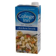 College Inn Aseptic Chicken Broth, 32 Ounce -- 12 per case.