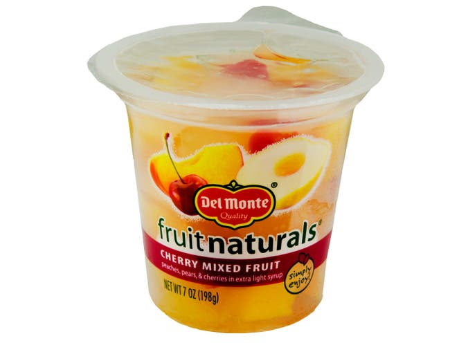 Fruit Naturals Cherry Mixed Fruit, 7 Ounce -- 12 per case.