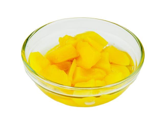 Fruit Naturals Peach Chunk, 7 Ounce -- 12 per case.
