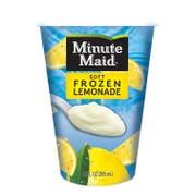 Minute Maid Soft Frozen Lemon Lemonade Cup, 12 Ounce -- 12 per case.