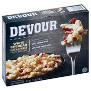Devour White Cheddar Mac and Cheese with Bacon, 12 Ounce -- 8 per case.