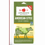 Applegate Natural Baby Colby Sliced American Cheese, 6 Ounce -- 12 per case.