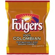 Folgers Colombian Ground Coffee, 1.4 Ounce -- 150 per case.