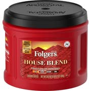 Folgers Caffeinated House Blend Ground Coffee, 24.2 Ounce -- 6 per case.