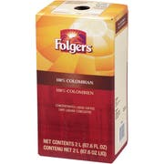 Folgers 100 Percent Colombian Coffee Liquid, 2 Liter - 2 per pack -- 1 each.