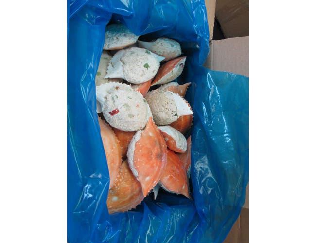 Tampa Maid Captain Joe Stuffed Crab, 4 Ounce -- 24 per case.