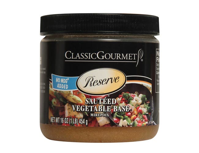 Classic Gourmet No MSG No Trans Fat Sauteed Vegetable Base, 1 Pound -- 6 per case.