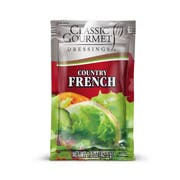 Classic Gourmet French Country Dressing, 1.5 Ounce Pouch -- 60 per case.