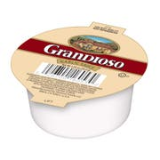 Grandioso Liquid Garlic Sauce, 0.07 Pound Cup -- 128 per case.