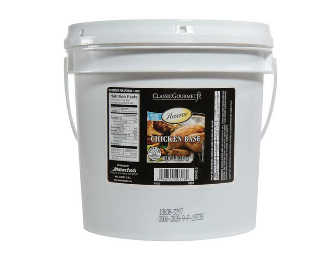 Ventura Foods Classic Gourmet Real Chicken Base, 8 Pound -- 2 per case.