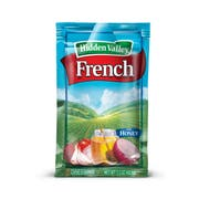 Hidden Valley French Portion Pack Dressing -- 84 Case 1.5 Ounce