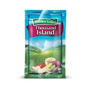 Hidden Valley Thousand Island Portion Pack Dressing -- 84 Case 1.5 Ounce