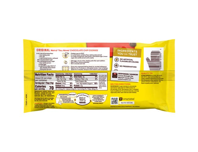 Nestle Morsels Chocolate Chip 12 Ounce -- 24 per Case
