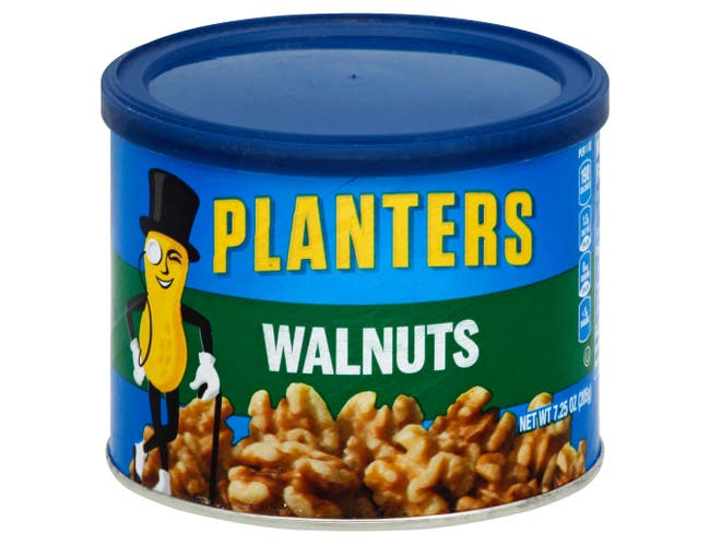 Planters Walnuts, 7.25 Ounce Can -- 6 per case.