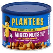 Planters Lightly Salted Mixed Nut, 10.3 Ounce -- 12 per case.