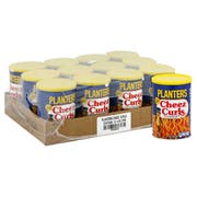 Planters Cheese Curls, 4 Ounce -- 12 per case.
