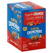 Planters Hot and Spicy Peanut Crunchers, 2.25 Ounce -- 18 per case.