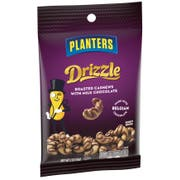 Planters Drizzle Milk Chocolate Cashews Snack Nuts, 2 Ounce -- 18 per case.