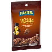 Planters Kettle Cooked Butter Cinnamon Pecan Snack Nuts, 2.25 Ounce -- 18 per case.