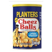 Planters White Cheddar Cheez Ball Snack, 2.75 Ounce -- 12 per case