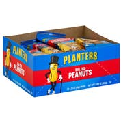 Planters Salted Peanut Snacks, 1.75 Ounce -- 48 per case.
