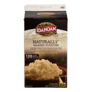 Idahoan Naturally Signature Mashed Potatoes, 4.68 Pound -- 6 per case.