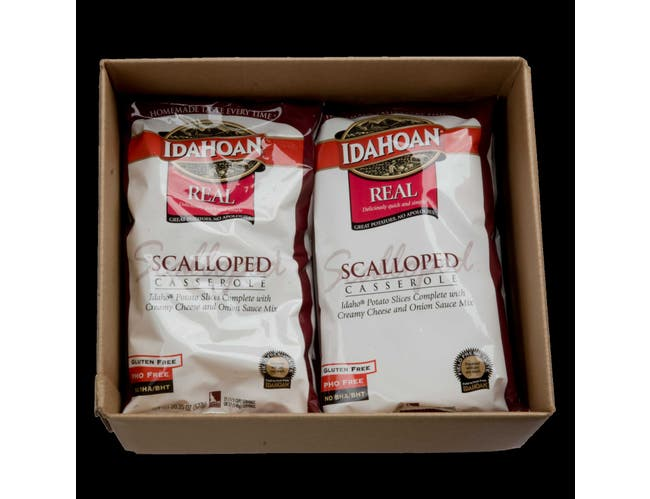 Idahoan Real Scalloped Potato Casserole, 20.35 Ounce -- 12 per case.